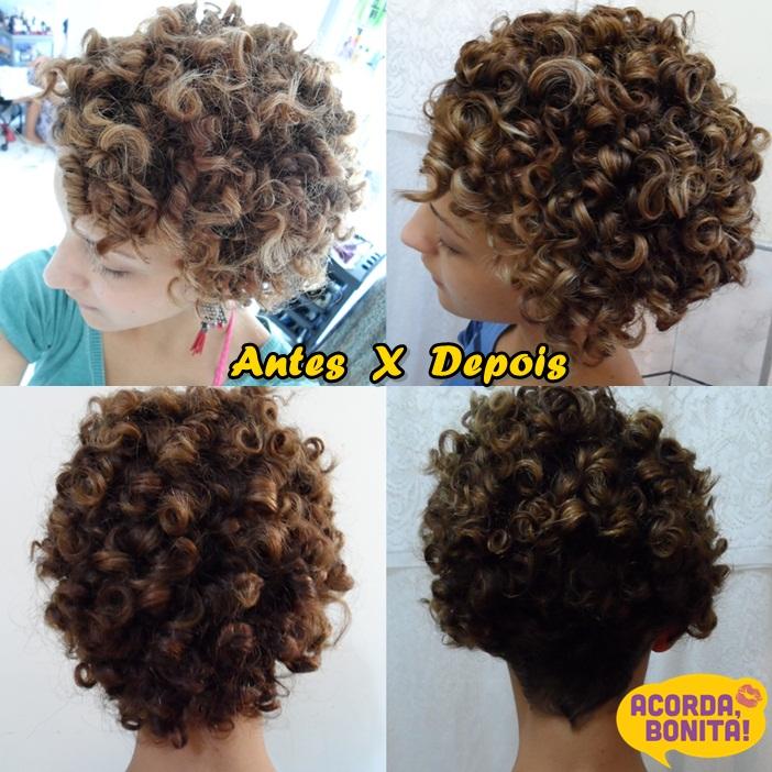 corte de cabelo cacheado Karina Viega com Kaka Domingues 2